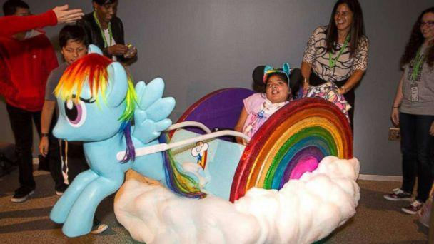 PHOTO: Dalia Fein, 11, of Framingham, Massachusetts, is obsessed with 'My Little Pony,' her mom said. (Courtesy Magic Wheelchair)