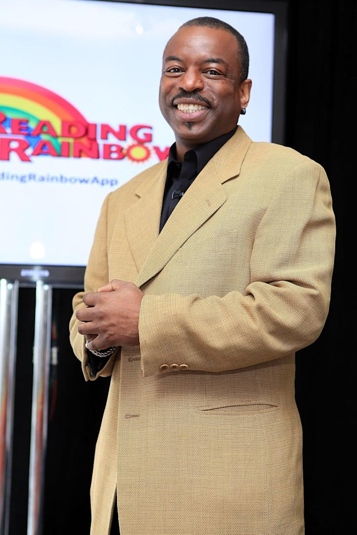 """LeVar Burton attends the """"Reading Rainbow"""" software preview at Studio 450 on June 19, 2012 in New York City."""
