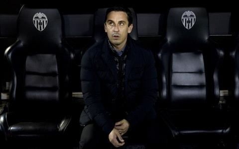 <span>Gary Neville did not last long in charge of Valencia</span> <span>Credit: Getty Images </span>