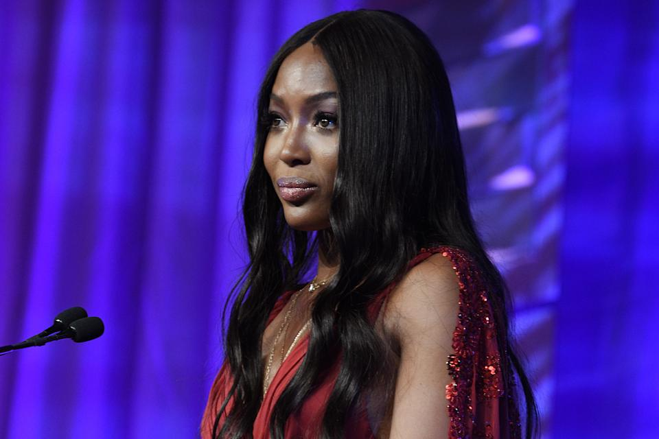 Naomi Campbell opens up about self-care and recovery. (Photo by Gary Gershoff/Getty Images)