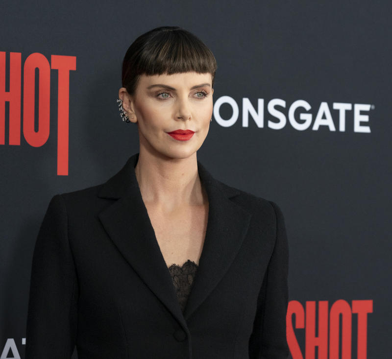 AMC LINCOLN SQUARE THEATER, NEW YORK, UNITED STATES - 2019/04/30: Charlize Theron attends premiere of Long Shot at AMC Lincoln Center Theater. (Photo by Lev Radin/Pacific Press/LightRocket via Getty Images)