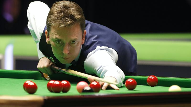 Ken Doherty rolls back the years to eliminate Neil Robertson in Milton Keynes
