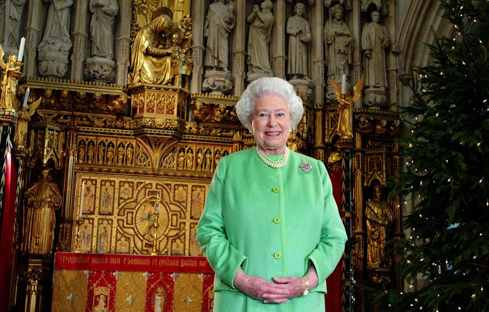 The Queen watches her own speech every Christmas Day [Photo: Getty]