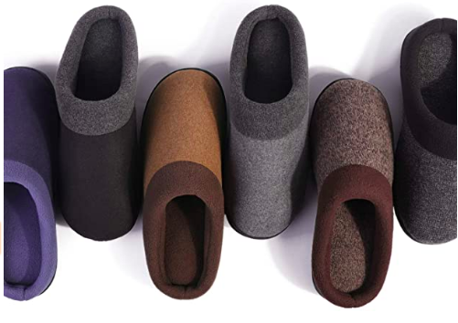 HomeIdeas Men's Anti-Slip House Slippers (Photo via Amazon)