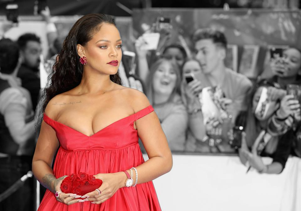 Rihanna is launching her Savage x Fenty underwear line on May 11. (Photo: Getty Images)