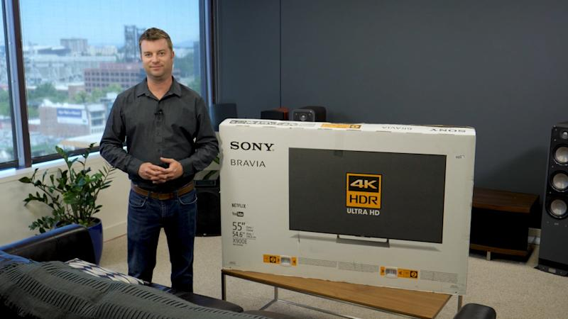 Sony X900E unboxing and setup guide: Give yourself the 4K TV