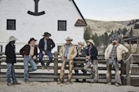 <p><strong><em>Yellowstone</em><br><br></strong>This Paramount Network drama stars Kevin Costner as the patriarch of a family or ranchers in Montana.  </p>