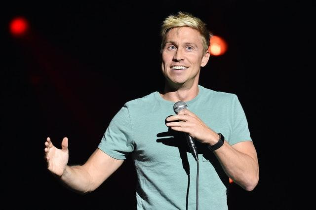 Russell Howard is also on Jonathan Ross's chat show