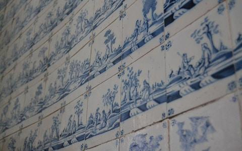 Dutch wall tiles