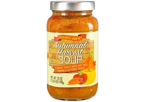 <p>A warm bowl of this soup will have you feeling Fall vibes in seconds. <strong>Star ingredients include butternut squash, pumpkin, and California tomatoes.</strong> Herbs like rosemary and sage balance out the flavors too.</p>