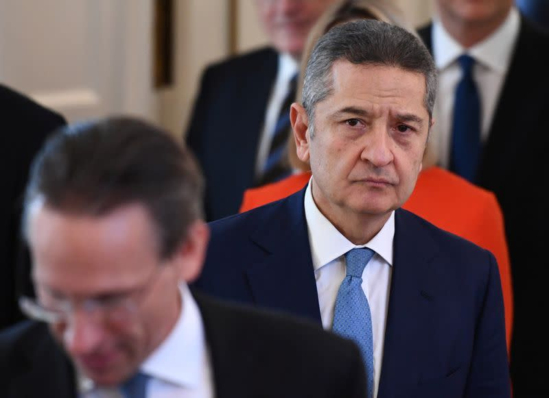 Mario Draghi receives the Order of Merit of the Federal Republic of Germany in Berlin
