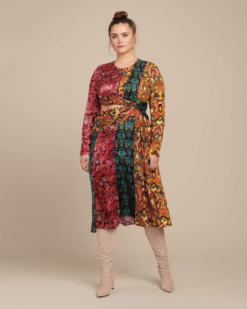 """<p><strong>Prabal Gurung</strong></p><p>11 Honoré </p><p><a href=""""https://go.redirectingat.com?id=74968X1596630&url=https%3A%2F%2F11honore.com%2Fcollections%2Fjuly-semiannual-sale%2Fproducts%2Ftaxila-long-sleeve-cut-out-dress&sref=https%3A%2F%2Fwww.marieclaire.com%2Ffashion%2Fg33367635%2F11-honore-semi-annual-sale%2F"""" rel=""""nofollow noopener"""" target=""""_blank"""" data-ylk=""""slk:SHOP IT"""" class=""""link rapid-noclick-resp"""">SHOP IT </a></p><p><del>$1,995</del><strong><br></strong><strong>$798</strong></p><p>From the bold pattern to the discreet cut-out, this Prabal Gurung dress will turn heads wherever you are.</p><p>•••</p><p><em>For more stories like this, including celebrity news, beauty and fashion advice, savvy political commentary, and fascinating features, sign up for the </em>Marie Claire <em>newsletter</em>.</p><p><a class=""""link rapid-noclick-resp"""" href=""""https://preferences.hearstmags.com/brands/MAR/subscribe.aspx?authId=F0CC0C27-80DA-4734-ABDF-E4115B84A56B&maj=WNL&min=UNDEF"""" rel=""""nofollow noopener"""" target=""""_blank"""" data-ylk=""""slk:SUBSCRIBE HERE""""><strong>SUBSCRIBE HERE</strong></a><br></p>"""