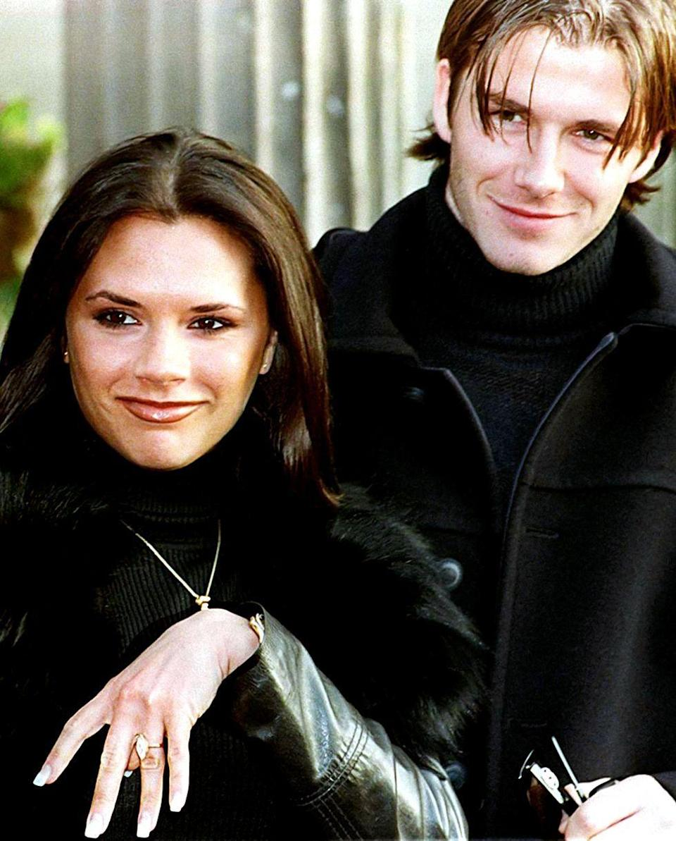 <p>The marquise cut (a.k.a. the football-shaped cut) had a major moment in the late '90s, when Victoria Beckham revealed her engagement ring from David Beckham. </p>