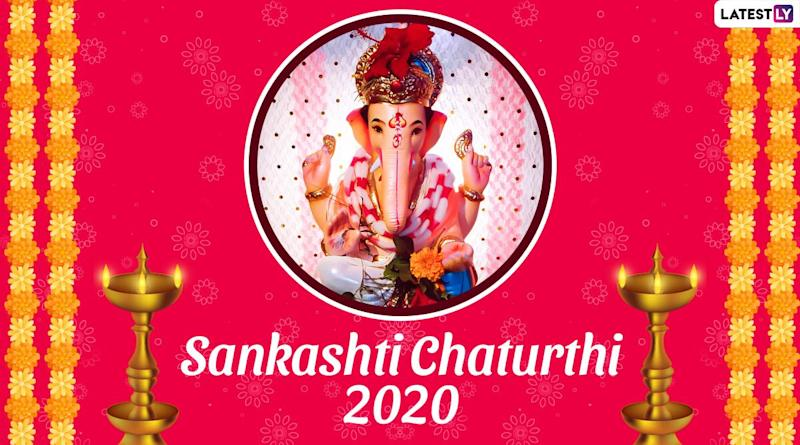 Sankashti Chaturthi 2020 Date and Shubh Muhurat: Know Moonrise Timings and Significance of the Auspicious Occasion on Which Lord Ganesha Is Worshipped