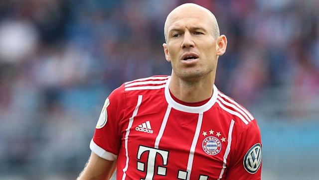 "<p><strong>Transfer: Bayern Munich to Manchester United</strong></p> <br><p>In what would be an incredible turn of events, Dutch international winger Arjen Robben has <a href=""http://www.90min.com/posts/5409062-report-boldly-claims-bayern-winger-would-consider-man-utd-move-if-jose-mourinho-came-calling"" rel=""nofollow noopener"" target=""_blank"" data-ylk=""slk:admitted"" class=""link rapid-noclick-resp"">admitted</a> that he would happily leave Bavaria this summer for Manchester United, in order to reunite with Jose Mourinho, who managed him during their time together at Chelsea.</p>"