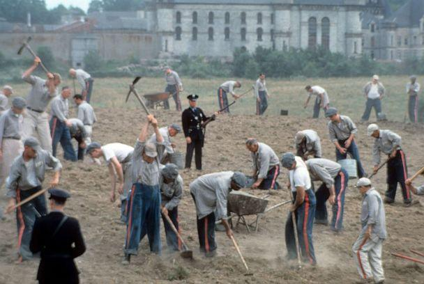 PHOTO: Prisoners work in a field in a scene from the film 'The Shawshank Redemption.' (Castle Rock Entertainment via Getty Images, FILE)