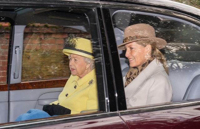 The Queen and Sophie
