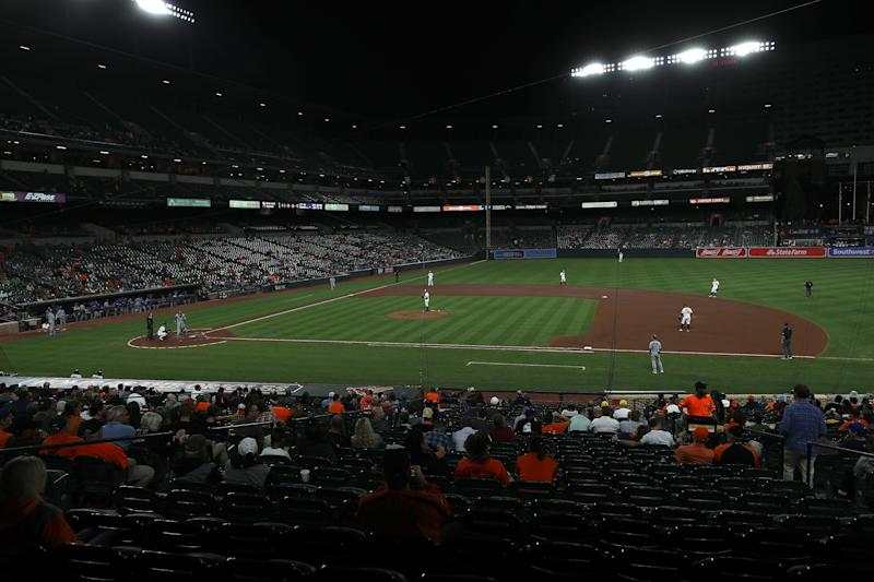 Almost half of MLB will be making less than $100,000 over the 60-game season instituted by the commissioner. (Photo by Rob Carr/Getty Images)