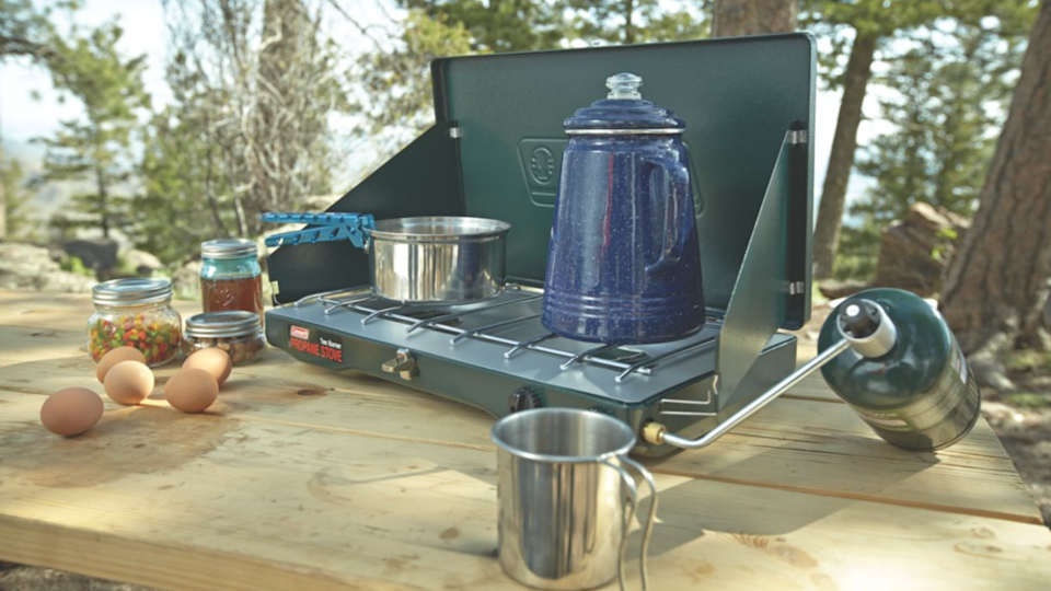 The best gifts for travelers: Coleman Two-Burner Stove