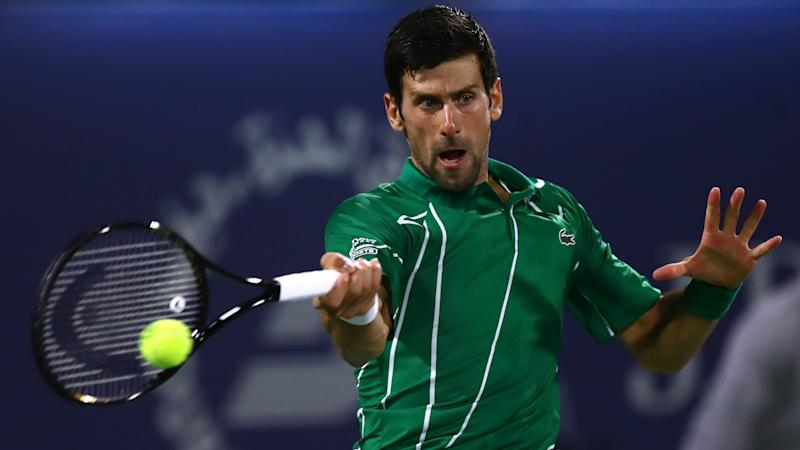 Djokovic to face Khachanov test after going 15-0 with latest Dubai win