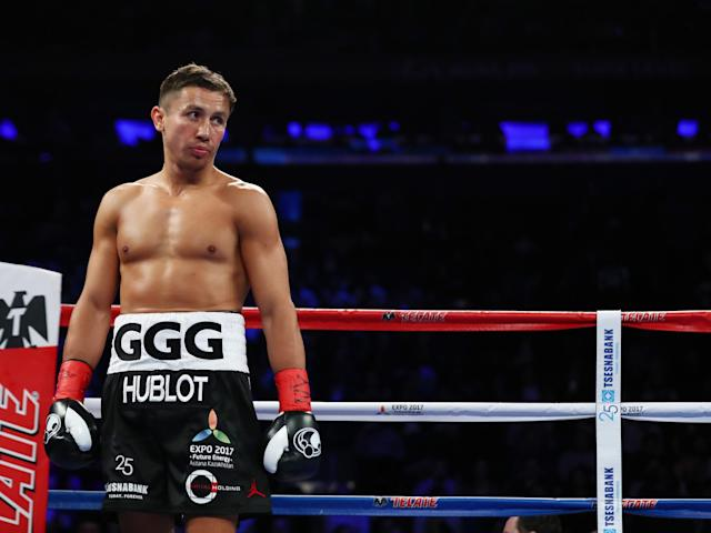 The Kazakh was unable to finish Jacobs off at Madison Square Garden: Getty