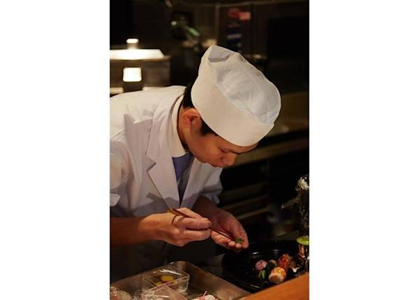 ▲Chef Nozu, who has been the inn chef since its opening in 2016