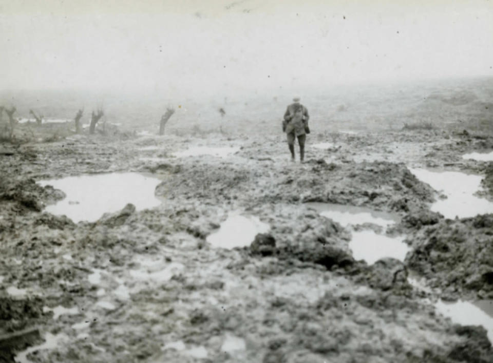 November 8, 1914 - The Unbearable Weather Conditions of First World War