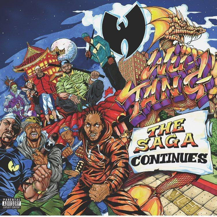 Cover art for the new Wu-Tang album