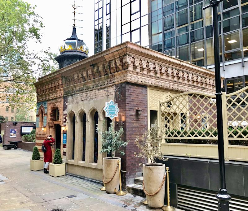 The bath house bishopsgate