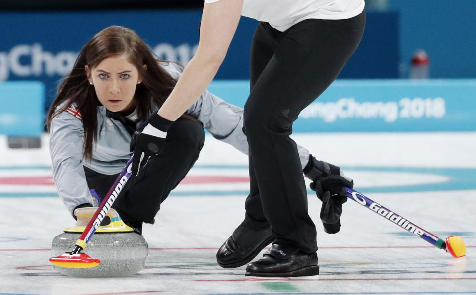 Scottish skip Eve Muirhead is set to face top teams at the 2021 Women's World Curling Championship (Picture: REUTERS/John Sibley)