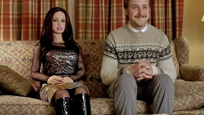 Ryan Gosling in the 2007 romance film Lars and the Real Girl.