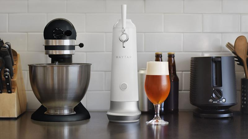 Think beer can't get any better? Fizzics' Waytap device will make you think again