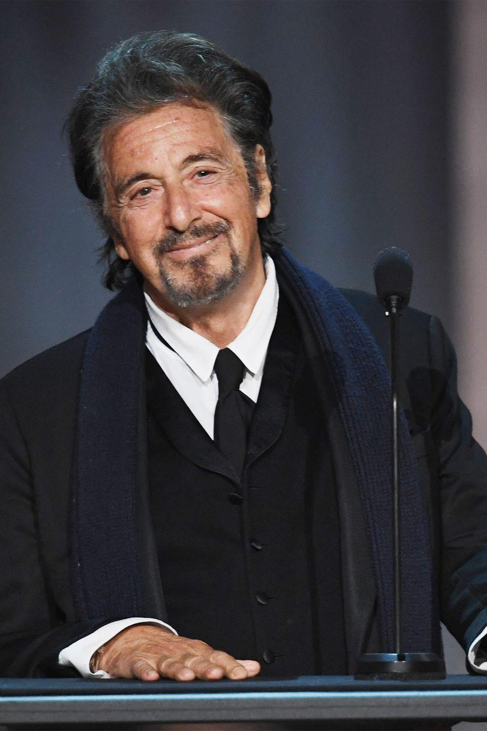 """<p>The Oscar winner attended the High School of the Performing Arts in New York City, where he <a href=""""https://www.businessinsider.com/celebrity-high-school-dropouts-2012-4#lindsay-lohan-7"""" rel=""""nofollow noopener"""" target=""""_blank"""" data-ylk=""""slk:reportedly struggled"""" class=""""link rapid-noclick-resp"""">reportedly struggled</a> in everything but English. Realizing that all he wanted to do was act, he soon dropped out and pursued his career. </p>"""
