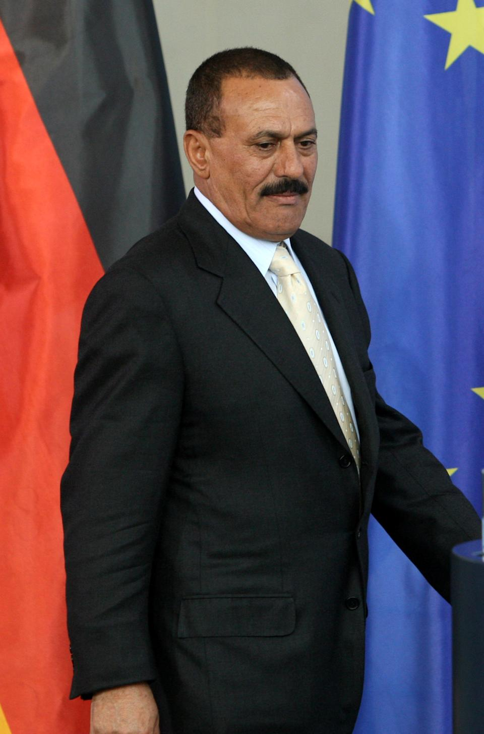 <p><b>Ali Abdullah Saleh</b></p> <br><p>Former Yemeni President Ali Abdullah Saleh ruled over the country for 30 years until he recently ceded power on his own terms. He is said to be worth around $32 billion.</p>