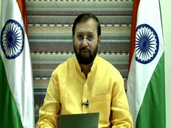 Minister of Environment, Forest and Climate Change Prakash Javadekar speaking at Bio-diversity Summit in UN.