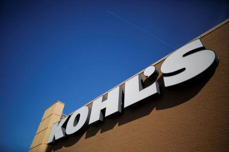 A sign marks a Kohl's store in Medford