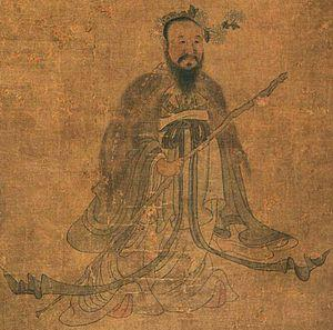 <em>Portrait of Qu Yuan by Chen Hong-shou (Photo courtesy of Wikipedia)</em>