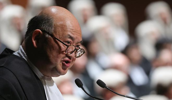 Chief Justice Geoffrey Ma has said foreign judges should not be excluded for the appointment list. Photo: Sam Tsang
