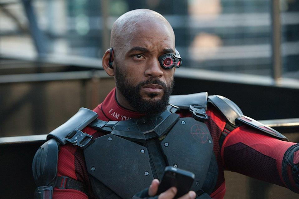 Will Smith as Deadshot (Credit: Warner Bros)