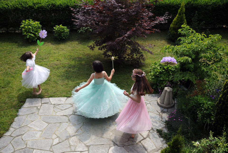 Girls who loved pretty princess culture as little ones doesn't preclude them from becoming feminists, a small new study has found. (Photo: Getty Images)