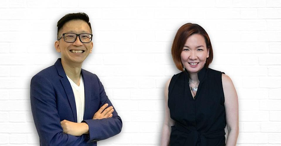 Antsomi co-founder and chief executive officer Serm Teck Choon (left) and DAVI strategy and growth marketing data head Carla Yap-Sy Su. — Picture courtesy of Antsomi