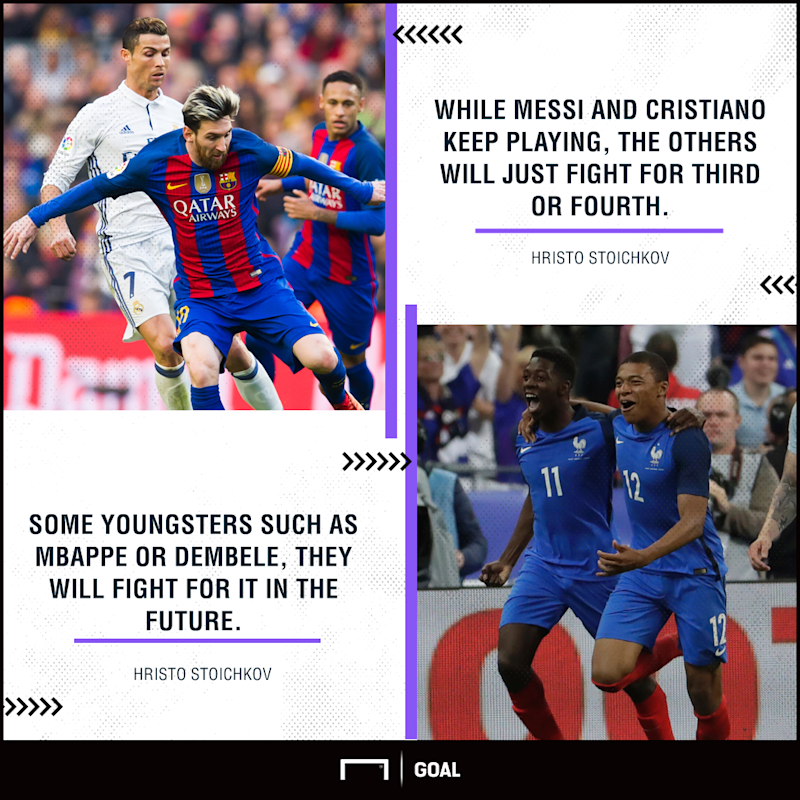 Cristiano Ronaldo I M Not Playing Just Lionel Messi: Mbappe And Dembele Billed As Messi, Ronaldo Successors By