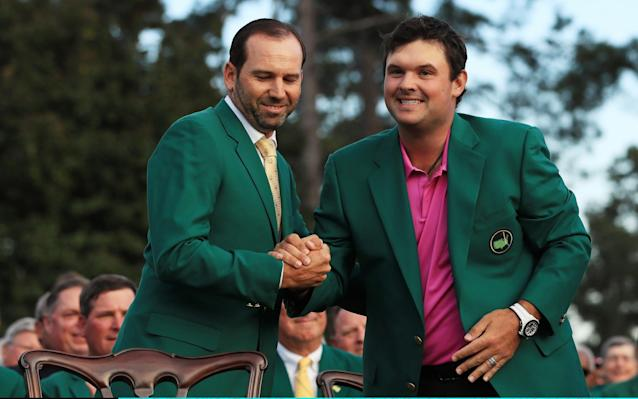 Patrick Reed was last year's Masters champion after an impressive final round performance - Getty Images North America