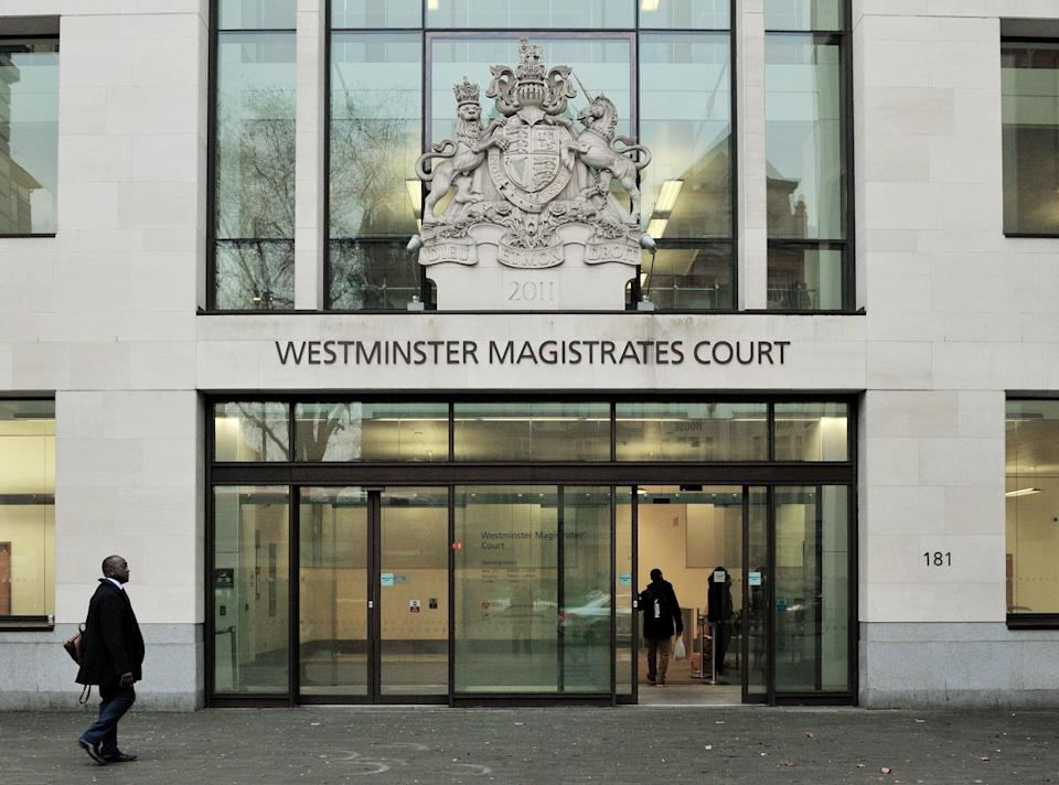 <em>Terror suspect – Rashid appeared at Westminster Magistrates' Court accused of helping would-be terrorists prepare attacks (Pictures: PA)</em>