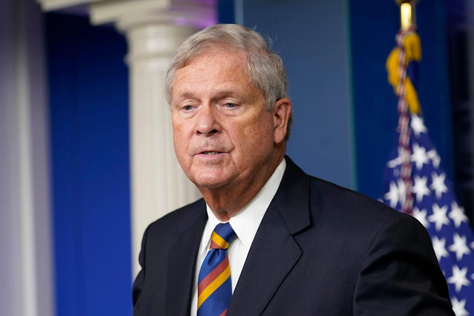 """""""The deck has been stacked against Black farmers,"""" Agriculture Secretary Tom Vilsack says."""