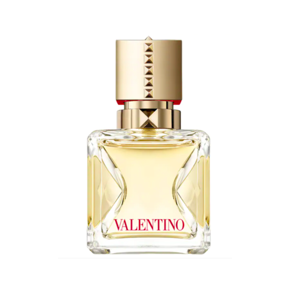 Fragrance can be hard to gift, but the warm floral notes in Valentino Voce Viva Perfume is sure to be a universal hit. The juice combines notes of Italian bergamot, orange blossom absolute, and a crystal moss accord. Together, they'll get the sophisticated scent of sweet flowers and vanilla. Plus, the bottle is so chic.