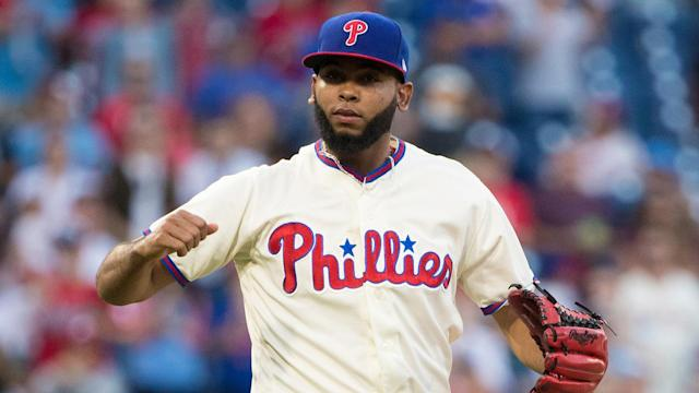Gabe Kapler thinks Seranthony Dominguez can be as good as any reliever in baseball, though he's wary about overusing Dominguez this season. By Jim Salisbury