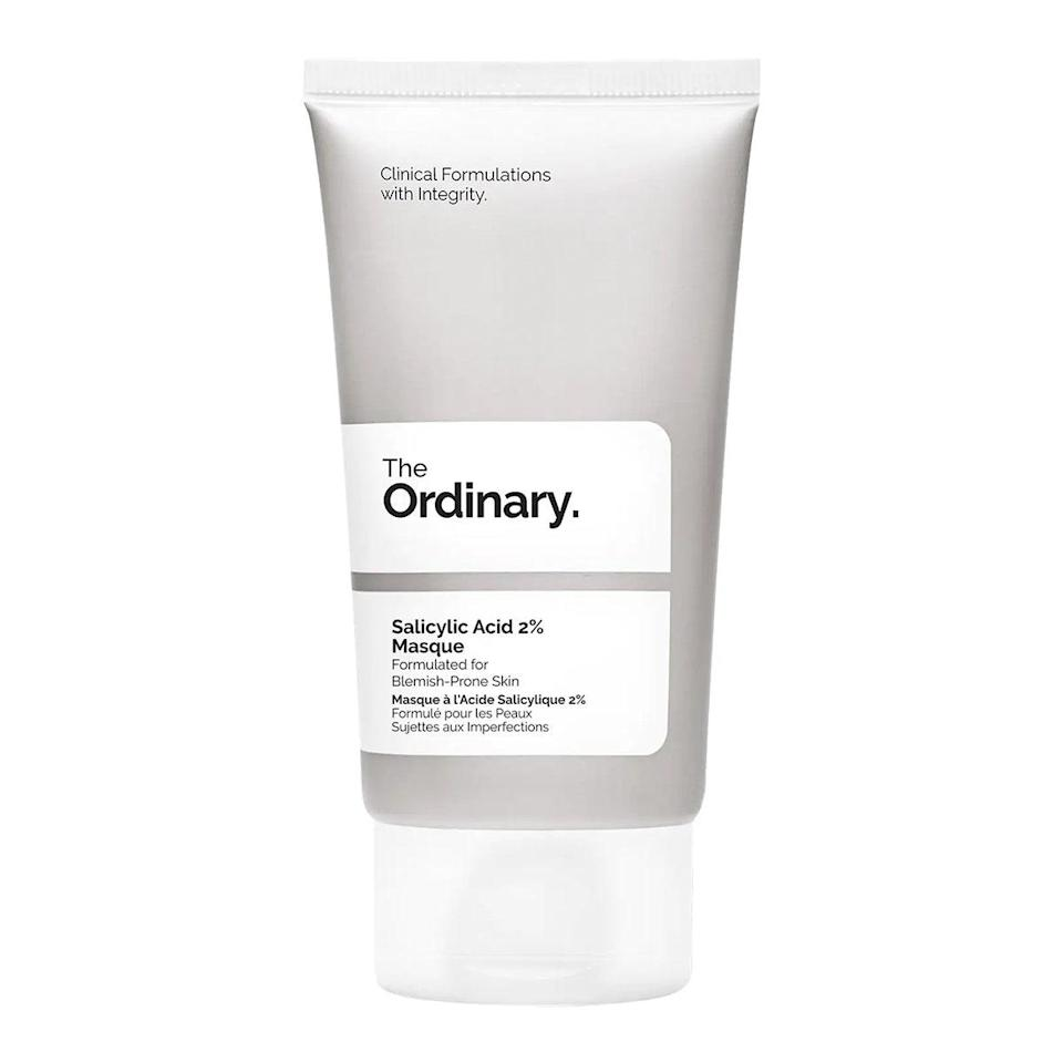 """This exfoliating charcoal-colored mask is the only thing that's helped with my quarantine breakouts. I rate it highly for both skintertainment and effectiveness: It gives me a bright, exfoliated glow without irritating my skin, and when it's on my face it makes me look like Dick Van Dyke doing the chimney sweep dance in Mary Poppins. There is simply nothing more I want from a product. <em>—J.S.</em> $12, The Ordinary. <a href=""""https://shop-links.co/1705067574373888621"""" rel=""""nofollow noopener"""" target=""""_blank"""" data-ylk=""""slk:Get it now!"""" class=""""link rapid-noclick-resp"""">Get it now!</a>"""