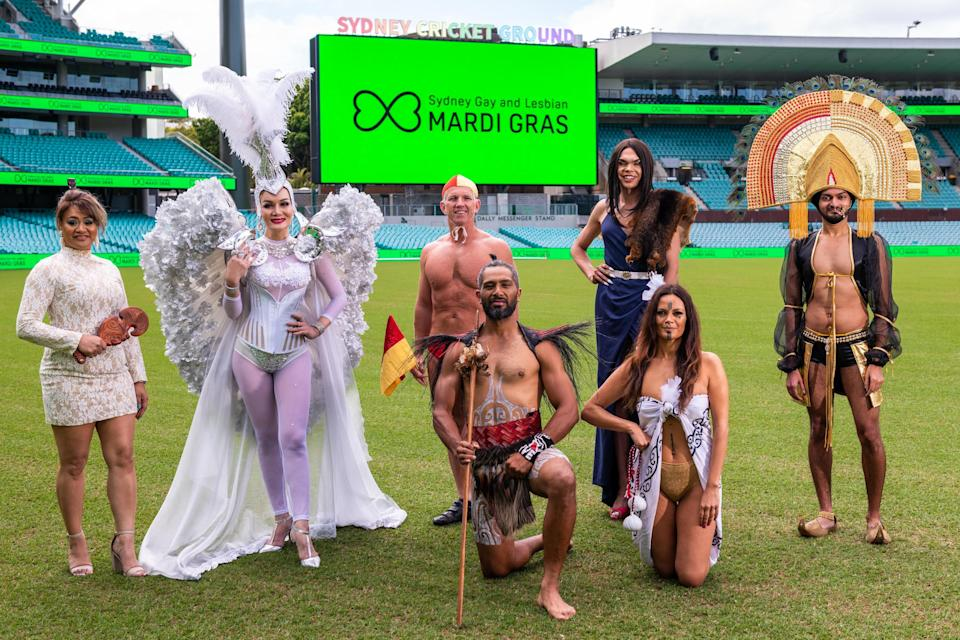 When is Sydney Mardi Gras 2021?  Festivities will take place at Sydney Cricket Ground on Saturday March 6 from about 6pm AEDT. (Photo: Supplied/Mardi Gras)
