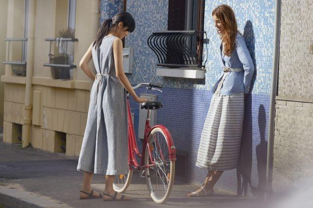 The new Uniqlo x Ines de la Fressange collection has a summer vibe inspired by port towns